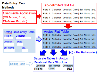 data entry diagram